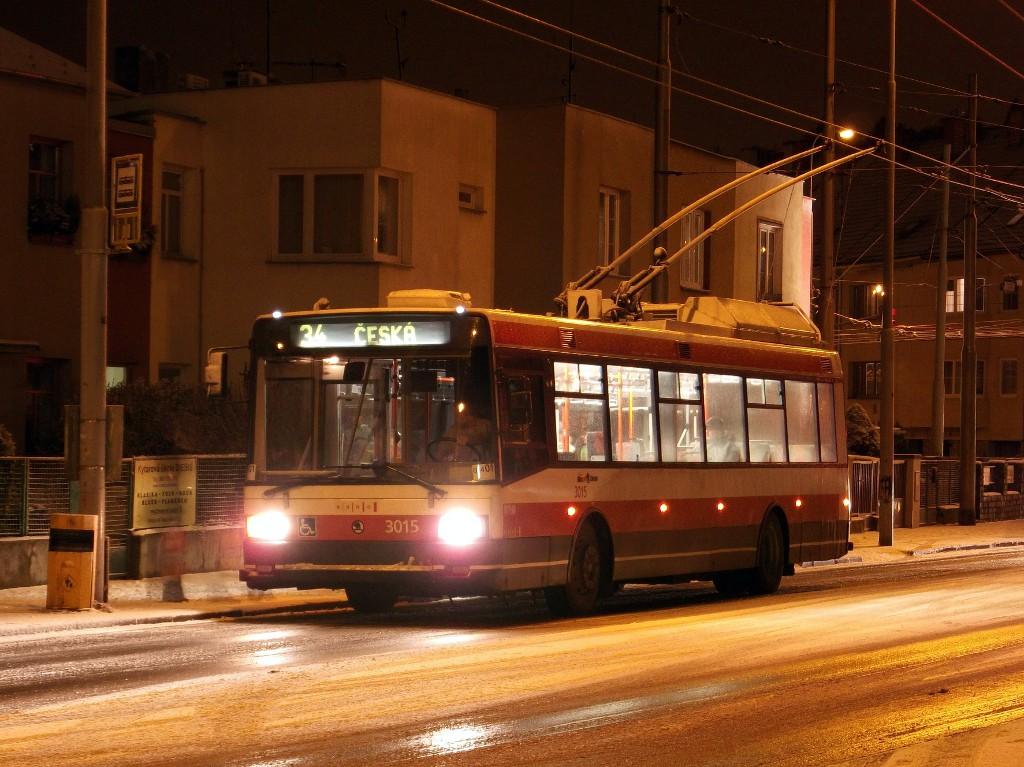 Fotogalerie » Škoda 21Tr 3015 | Brno | Žabovřesky | Přívrat | Přívrat
