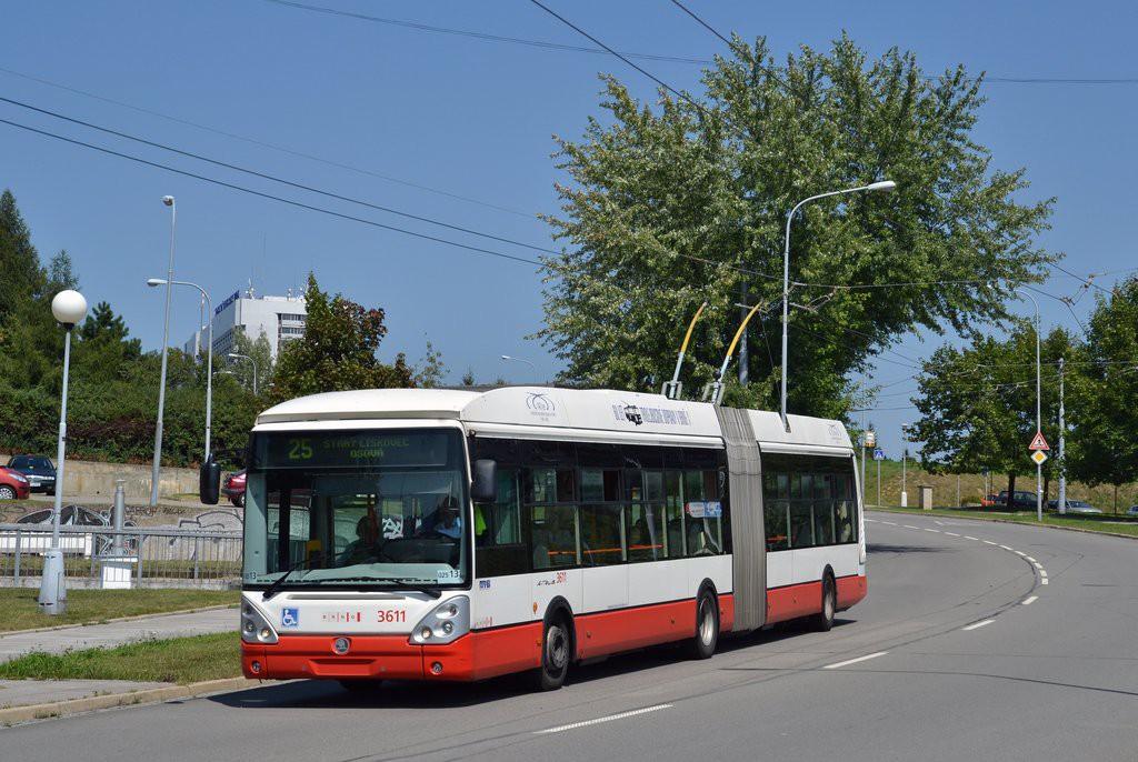 Fotogalerie » Škoda 25Tr Citelis 1B 3611   Brno   Starý Lískovec   Osová