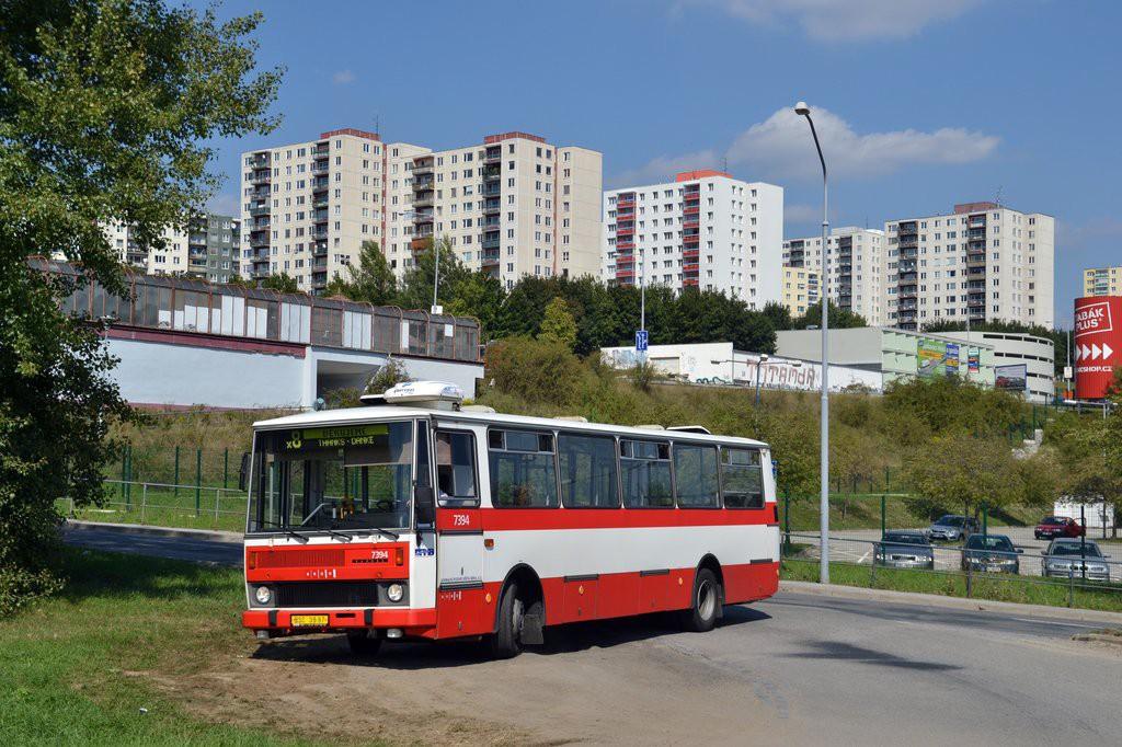 Fotogalerie » Karosa B732.1654.3 BSC 38-97 7394   Brno   Starý Lískovec   Jemelkova
