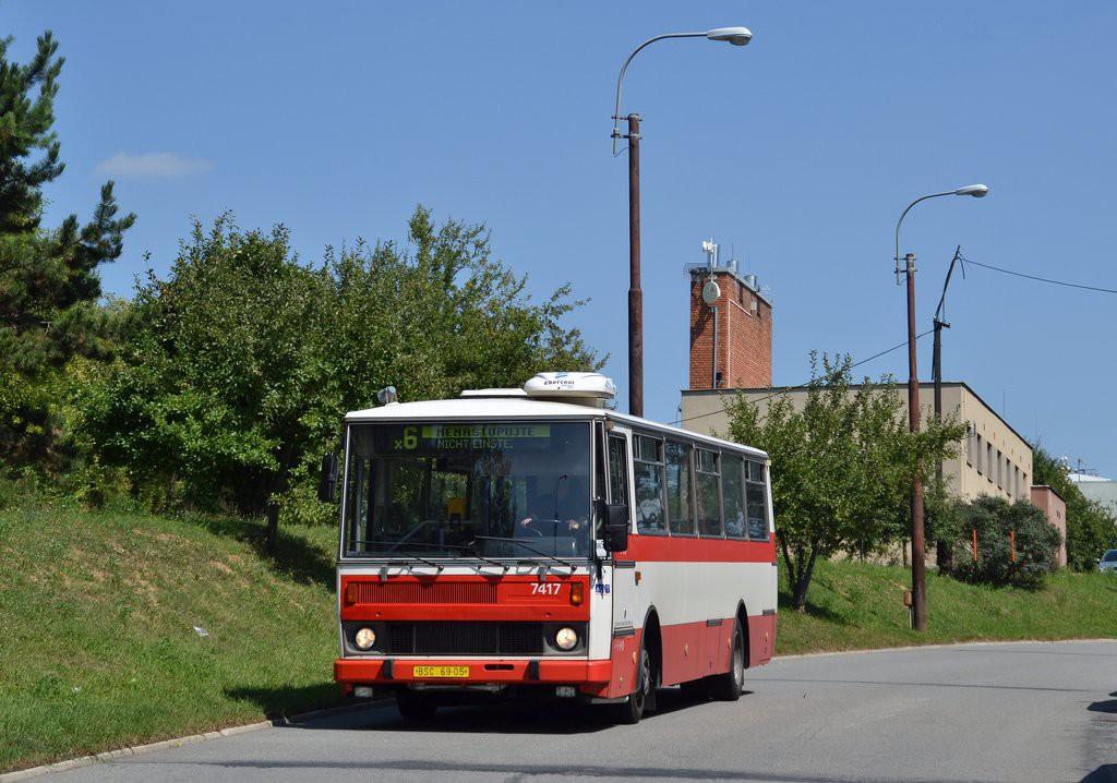 Fotogalerie » Karosa B731.1669 BSC 69-05 7417 | Brno | Starý Lískovec | Labská