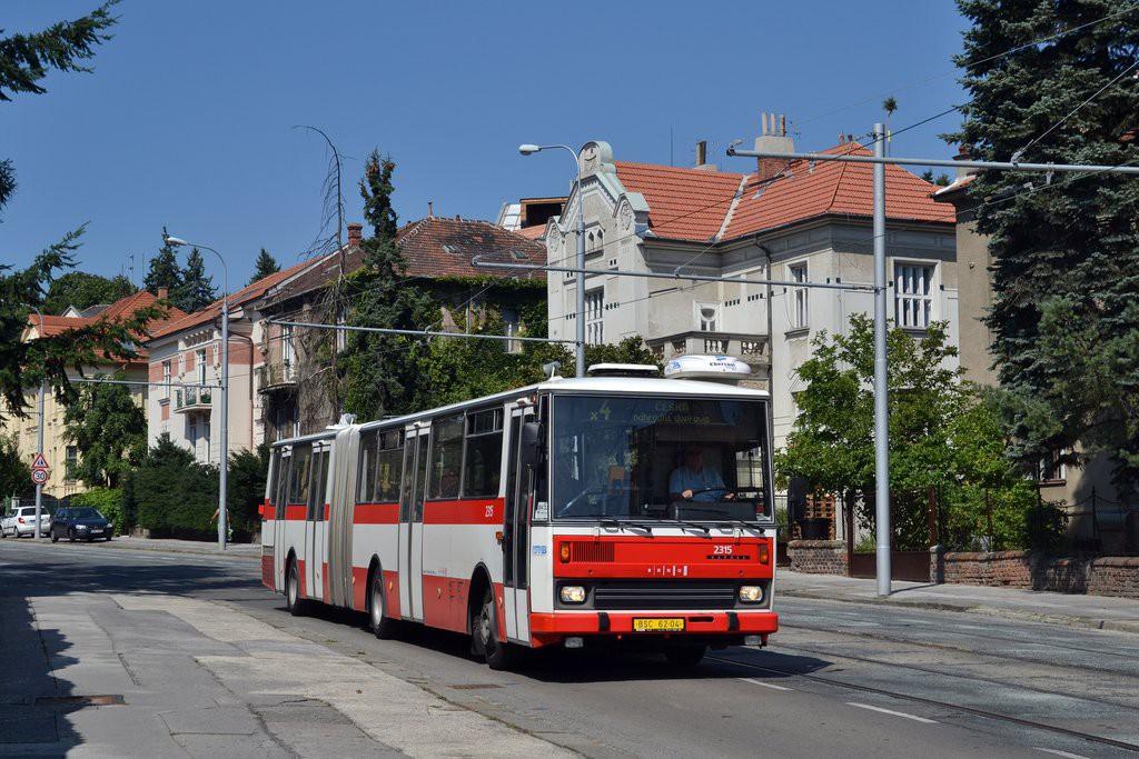 Fotogalerie » Karosa B741.1924 BSC 62-04 2315 | Brno | střed | Údolní
