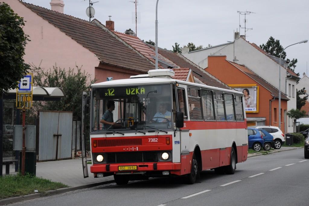 Fotogalerie » Karosa B732.1654.3 BSC 39-54 7382 | Brno | Horní Heršpice | Kšírova | Horní Heršpice