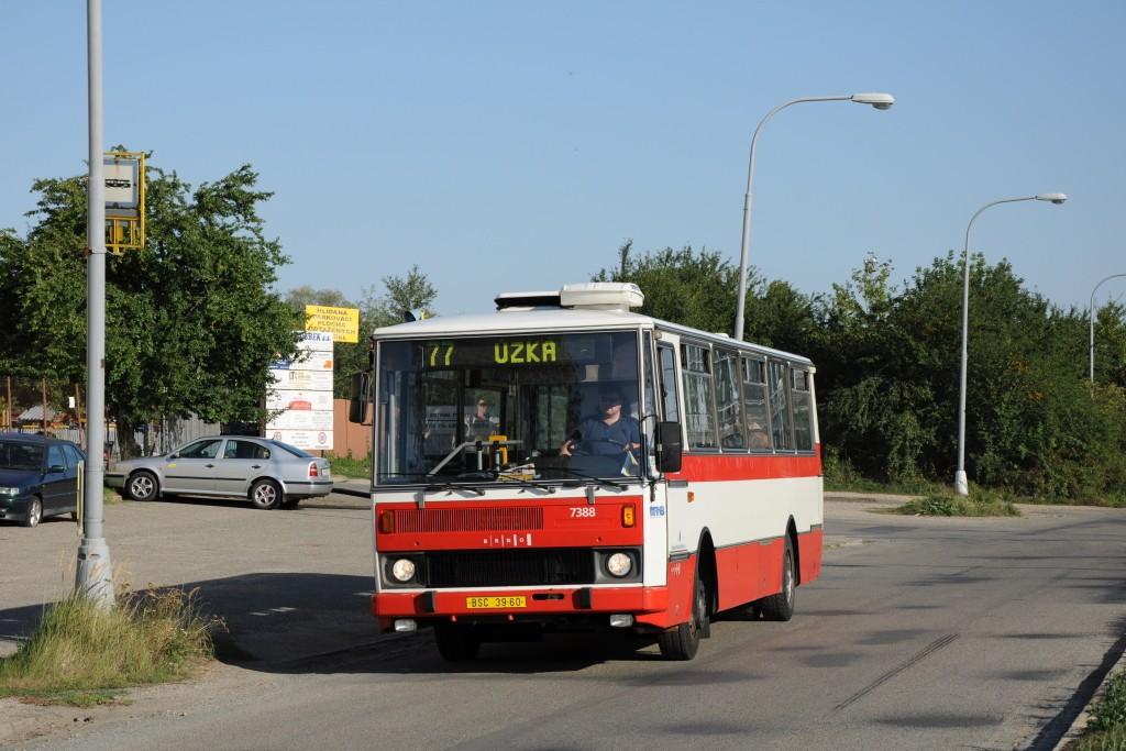 Fotogalerie » Karosa B732.1654.3 BSC 39-60 7388 | Brno | Slatina | Drážní | Drážní