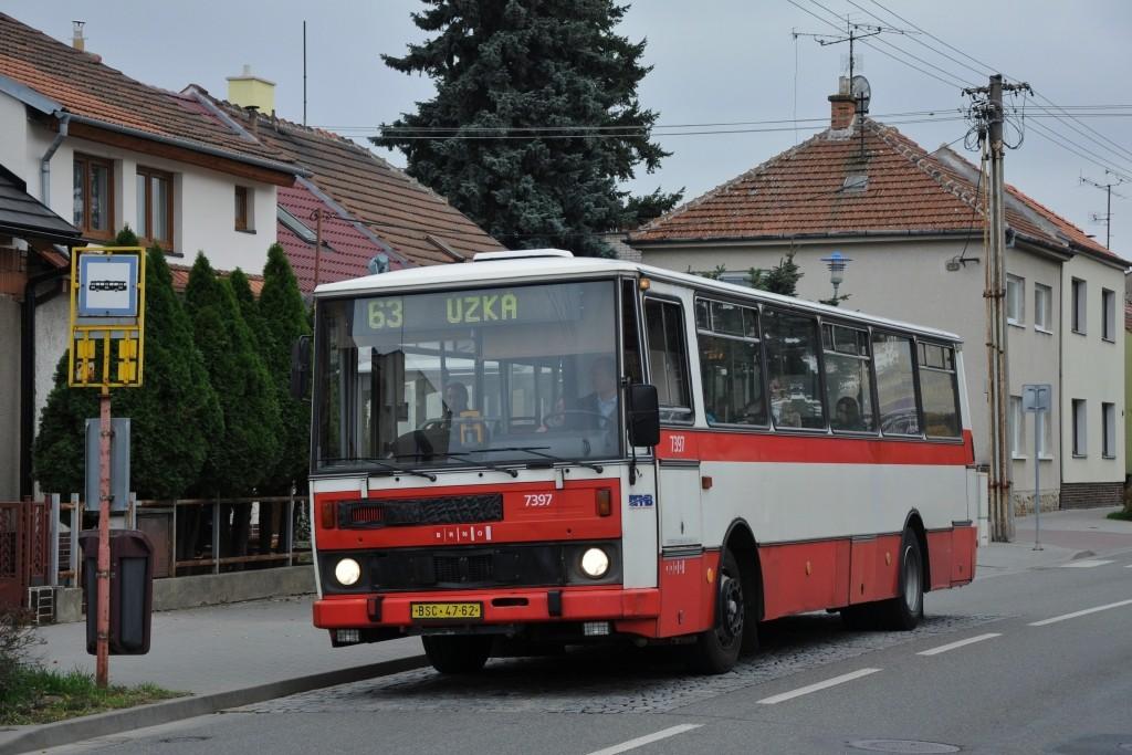 Fotogalerie » Karosa B732.1654.3 BSC 47-62 7397 | Brno | Holásky | V aleji | Prodloužená