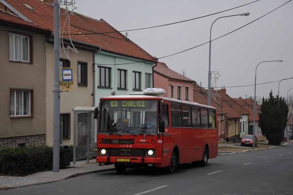Fotogalerie » Karosa B731.1669 BSC 69-07 7409 | Brno | Holásky | Na návsi | Holásky