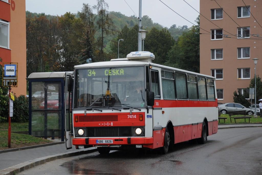 Fotogalerie » Karosa B731.1669 6B6 6826 7414 | Brno | Žabovřesky | Vychodilova | Vychodilova