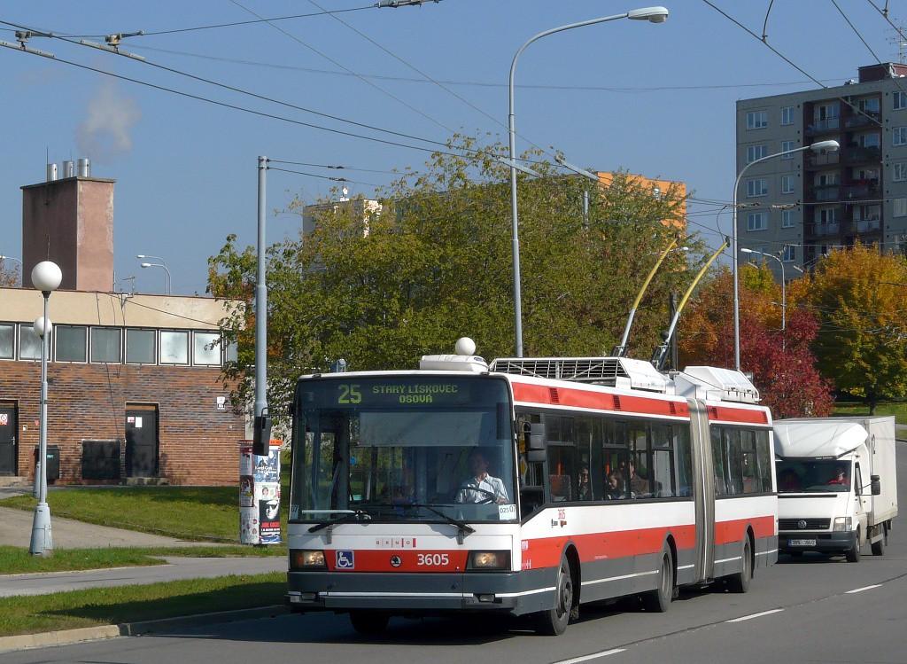 Fotogalerie » Škoda 22Tr 3605 | Brno | Starý Lískovec | Osová
