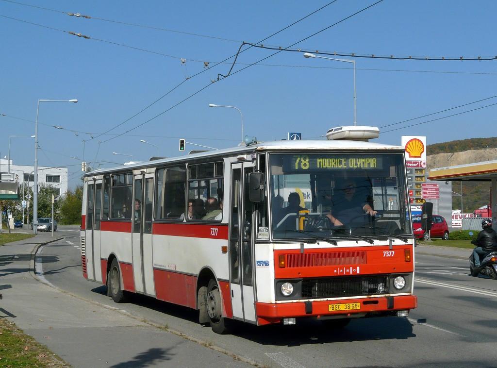 Fotogalerie » Karosa B732.1654.3 BSC 38-65 7377 | Brno | Vinohrady | Žarošická | Prušánecká