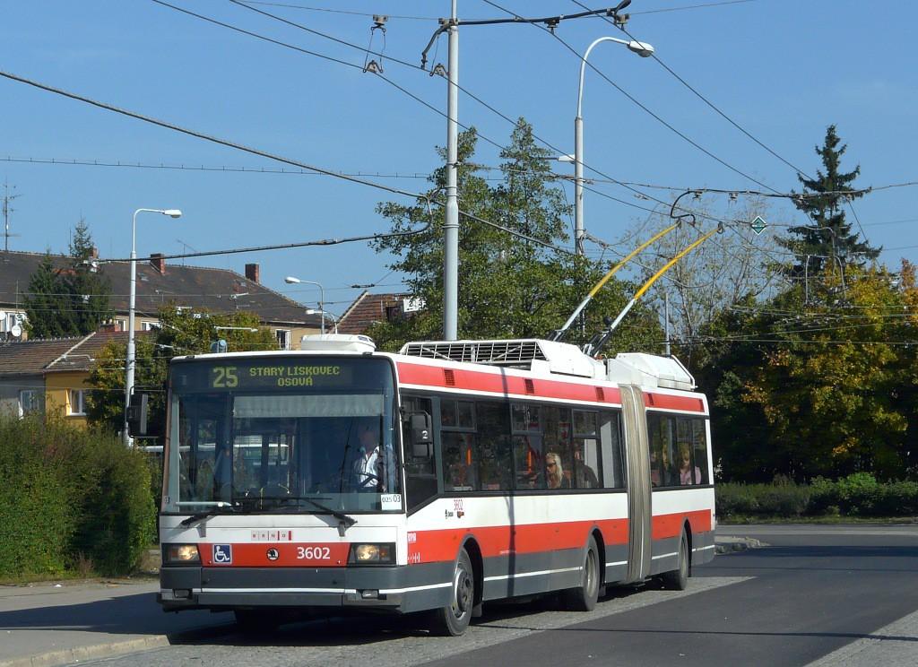 Fotogalerie » Škoda 22Tr 3602 | Brno | Židenice | Stará Osada