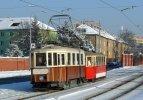V předešlých letech jezdila Mikulášská tramvaj na Stránskou skálu