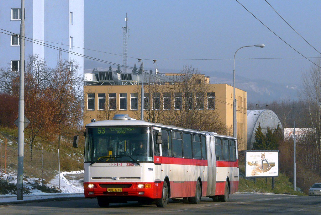 Fotogalerie » Karosa B941E.1962 BSH 13-90 2360   Brno   Černá Pole   Provazníkova