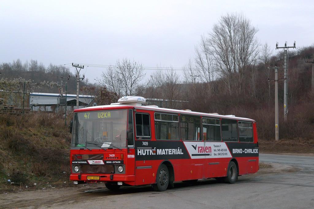 Fotogalerie » Karosa B731.1669 BSC 69-07 7409 | Brno | Černovice | Vinohradská | Staré Černovice