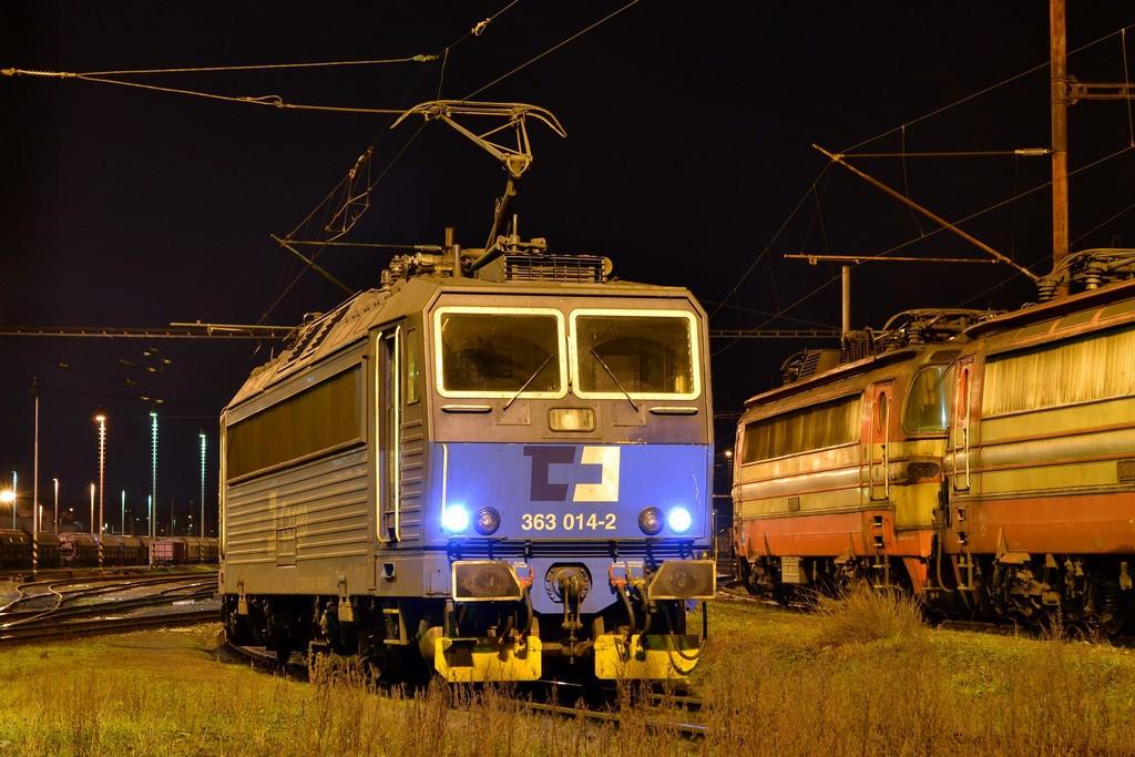 Fotogalerie » Škoda 363 363 014-2 | Brno  | Maloměřice | Maloměřice nádraží