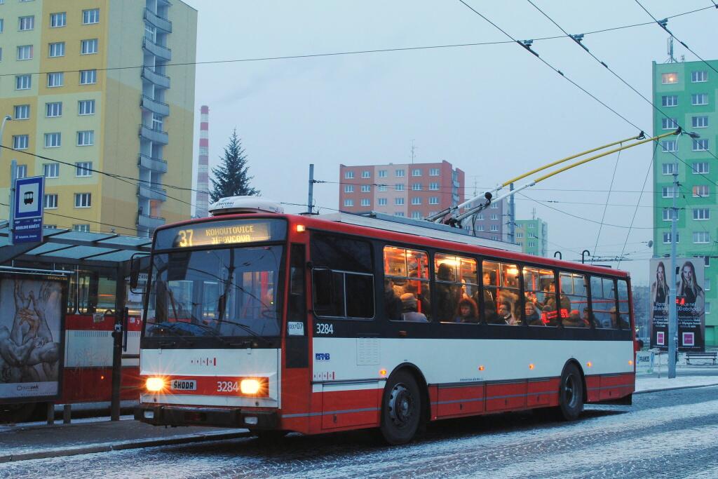 Fotogalerie » Škoda 14TrR 3284 | Brno | Staré Brno | Mendlovo náměstí | Mendlovo náměstí