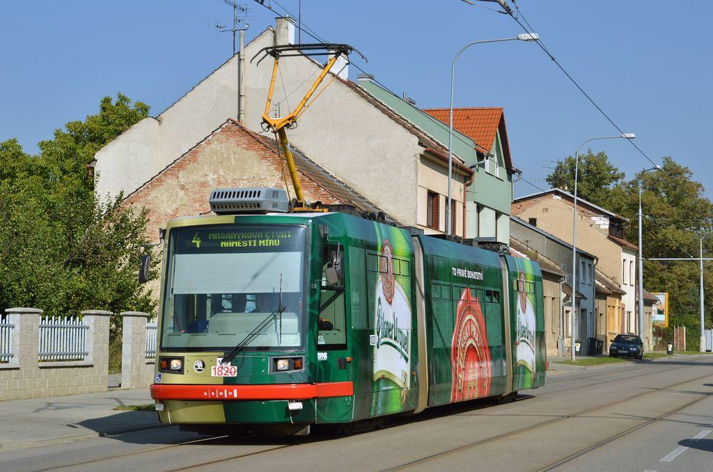 Fotogalerie » Škoda 03T7 1820 | Brno | Maloměřice | Obřanská