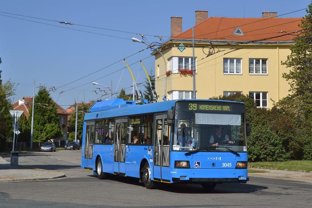 Fotogalerie » Škoda 21Tr 3045 | Brno | Masarykova Čtvrť | Vaňkovo náměstí | Vaňkovo náměstí