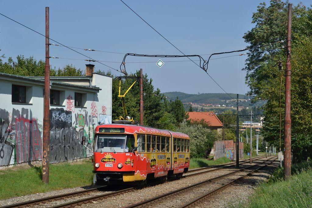 Fotogalerie » ČKD Tatra K2P 1116 | Brno | Bystrc