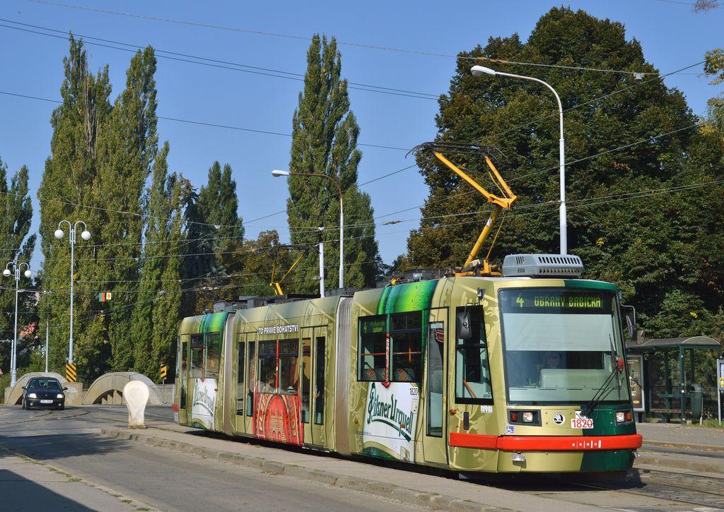 Fotogalerie » Škoda 03T7 1820 | Brno | Maloměřice | Dolnopolní | Maloměřický most