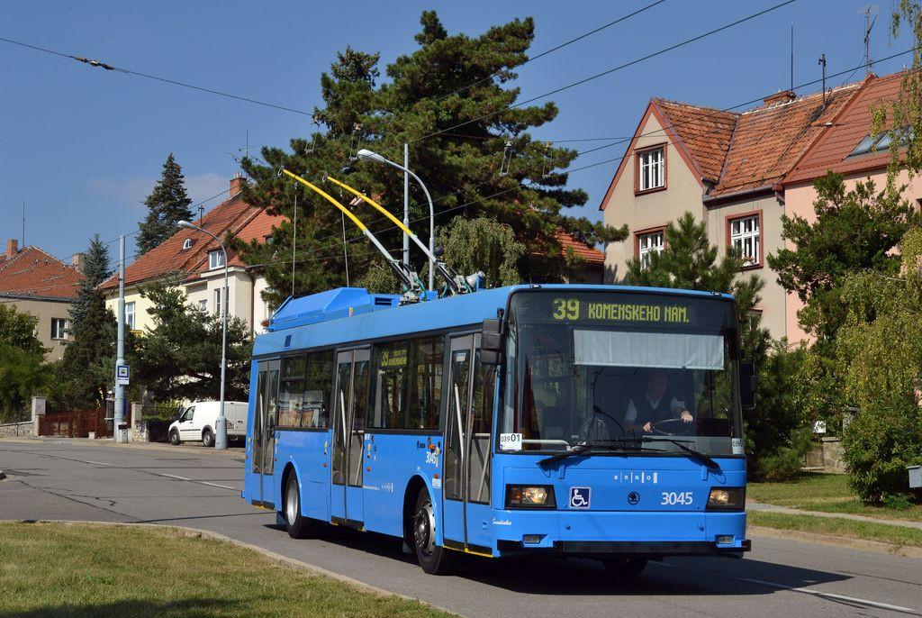 Fotogalerie » Škoda 21Tr 3045   Brno   Masarykova čtvrť   Barvičova