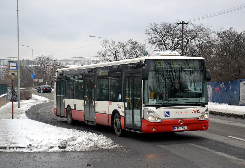 Fotogalerie » Irisbus Citelis 12M 4B4 5966 7645 | Brno | Líšeň | Křtinská | Malá Klajdovka