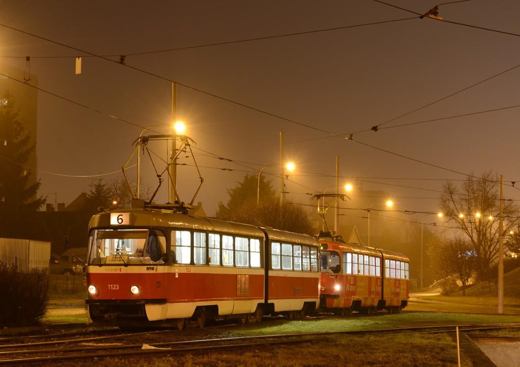 Fotogalerie » ČKD Tatra K2 1123 | Brno | Královo Pole | Královo Pole, nádraží