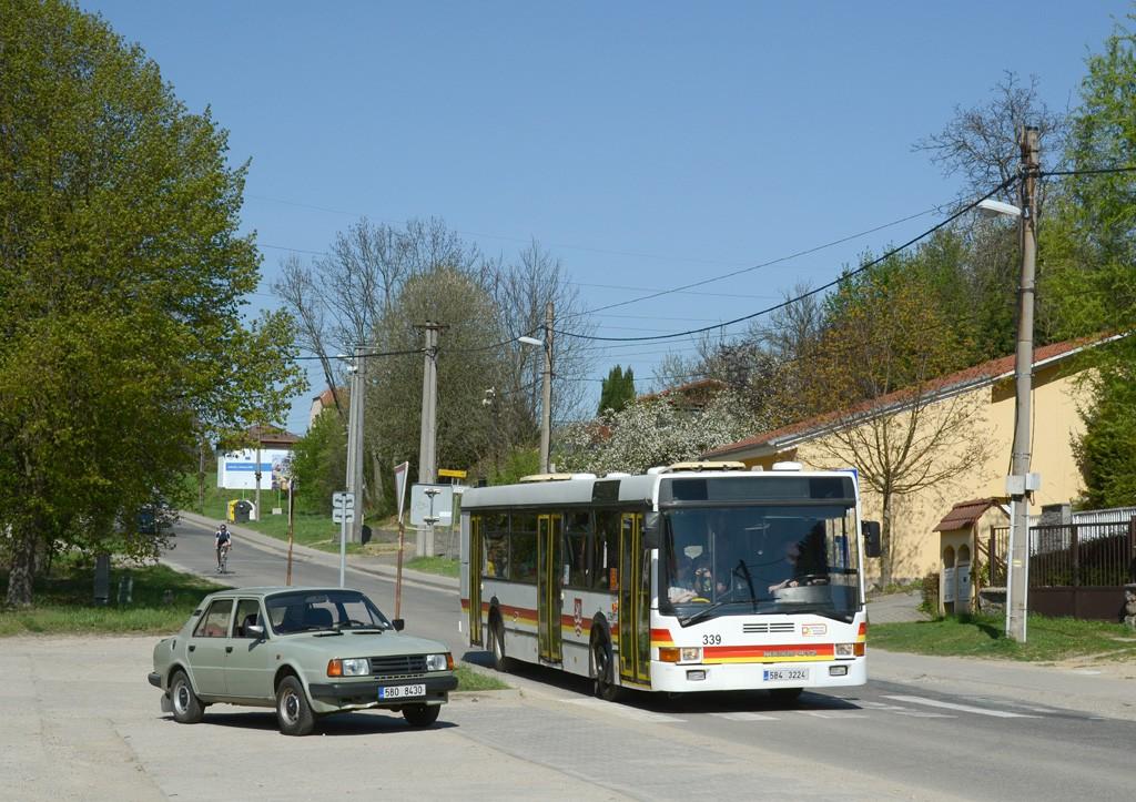 Fotogalerie » Ikarus 412.02 5B4 3224 339 | Lelekovice | Hlavní