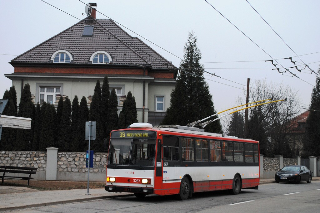 Fotogalerie » Škoda 14TrR 3267   Brno   Masarykova Čtvrť   Barvičova   Vaňkovo náměstí