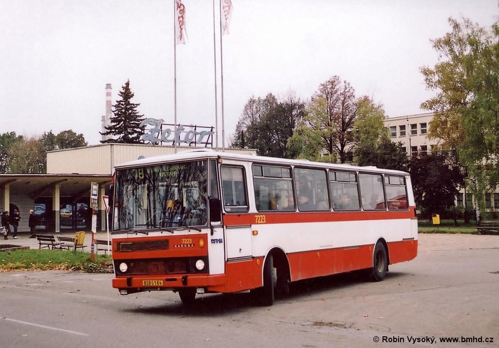 Fotogalerie » Karosa B732.20 BSB 51-64 7223 | Brno | Líšeň | Trnkova | Zetor, smyčka