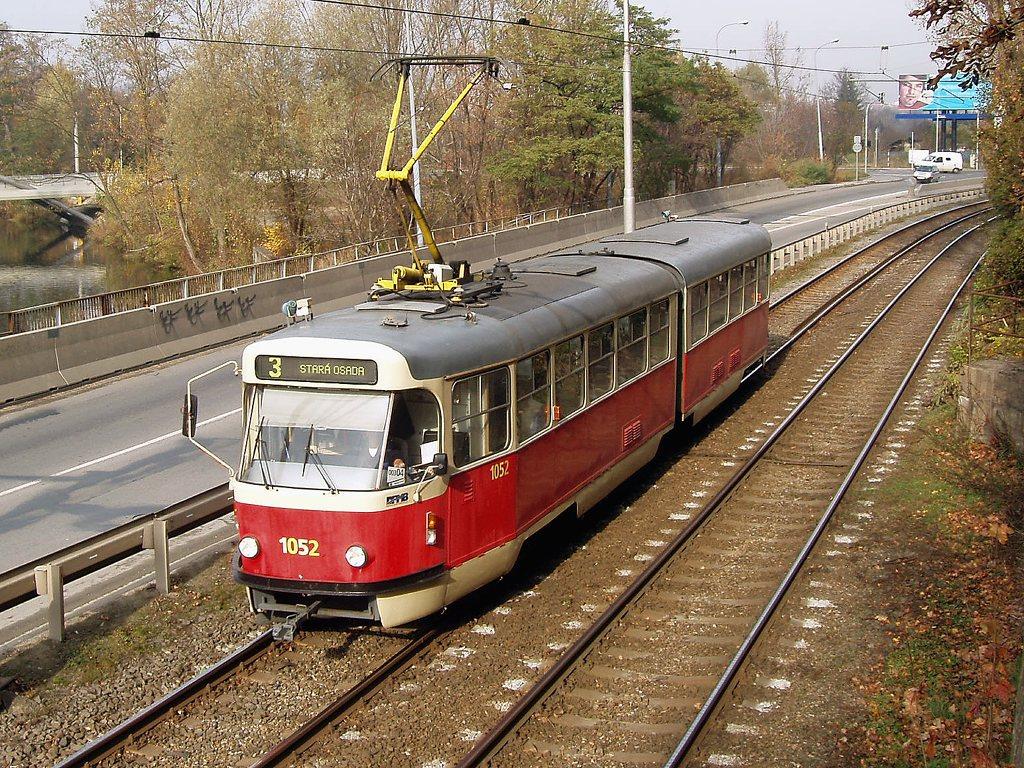 Fotogalerie » ČKD Tatra K2P 1052 | Brno | Žabovřesky | Žabovřeská