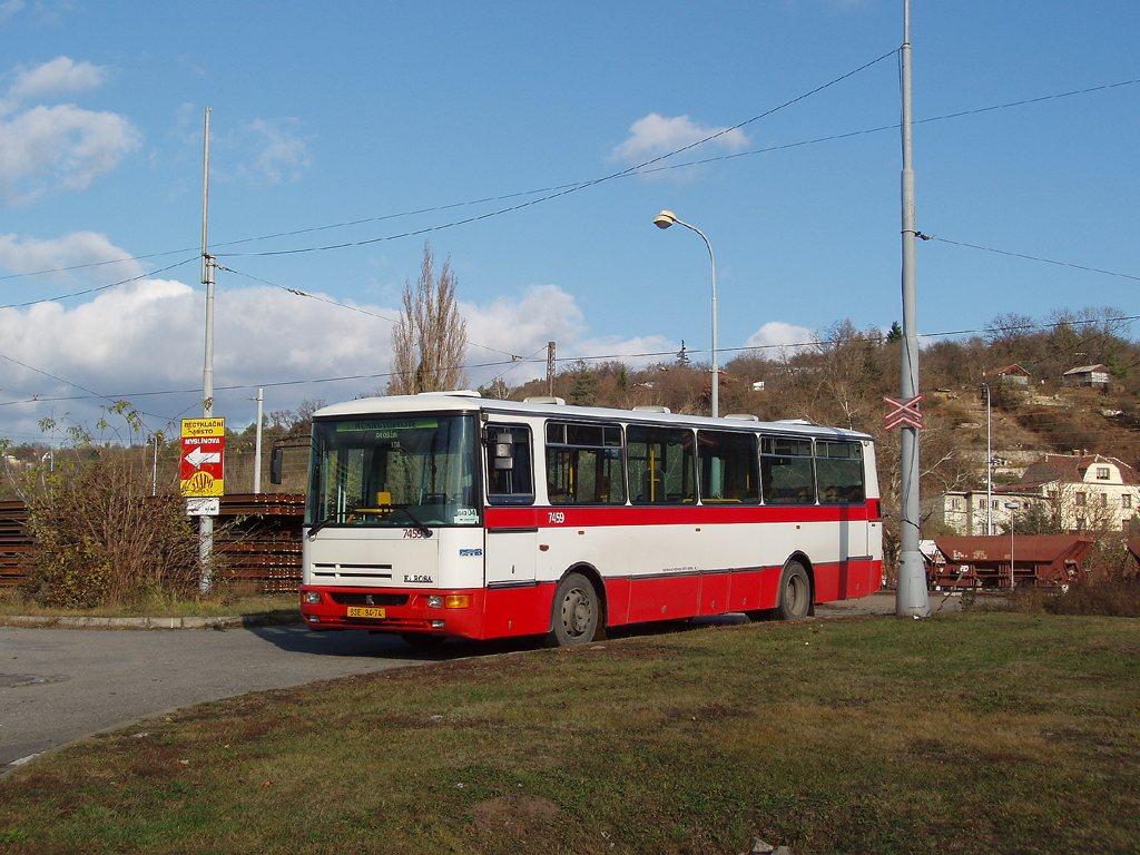 Fotogalerie » Karosa B931E.1707 7459   Brno   Královo Pole   Královo Pole, nádraží