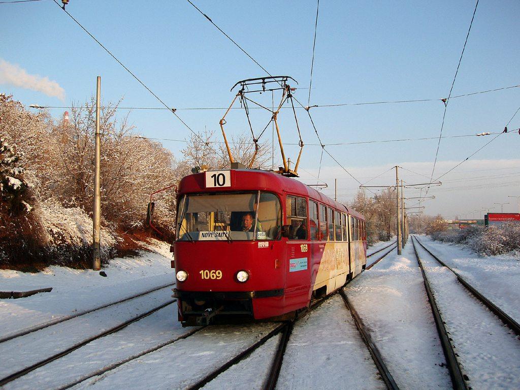 Fotogalerie » ČKD Tatra K2 1069   Brno   Židenice