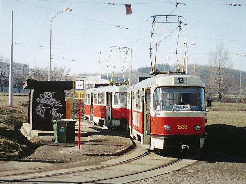 Fotogalerie » ČKD Tatra T3M 1532 | Brno | Královo Pole | Technické muzeum, smyčka