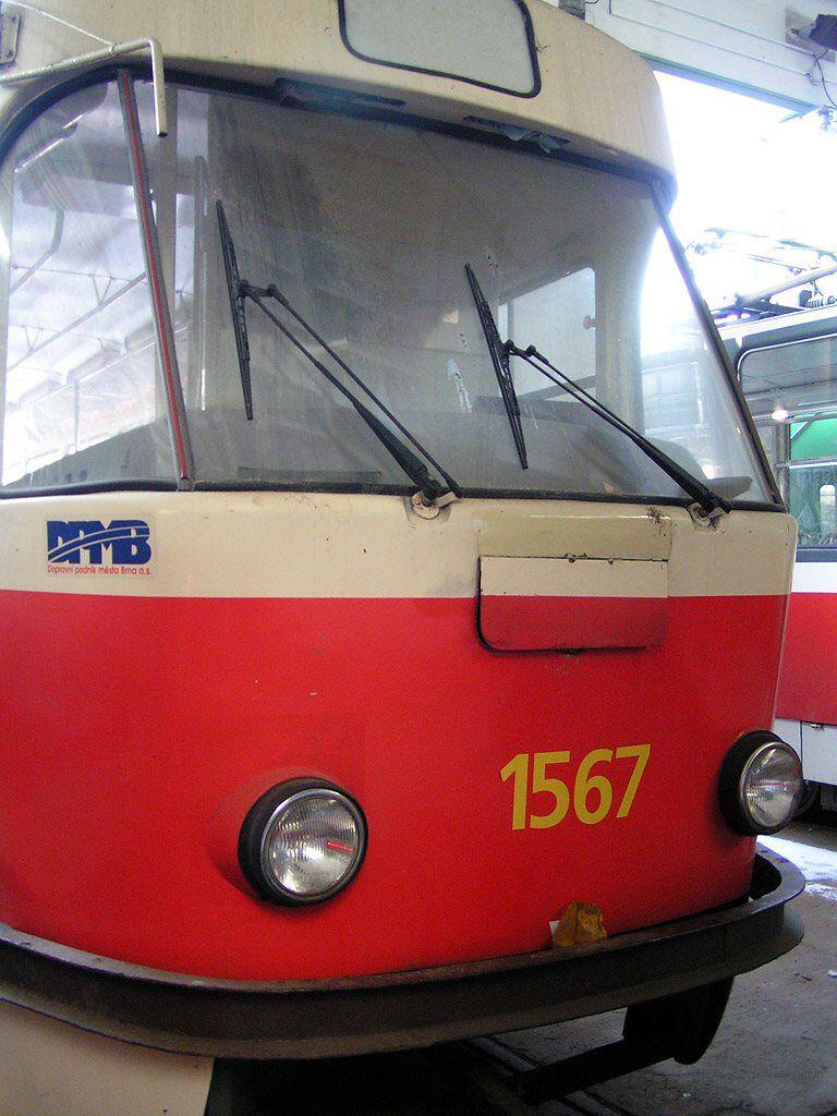 Fotogalerie » ČKD Tatra T3 1567