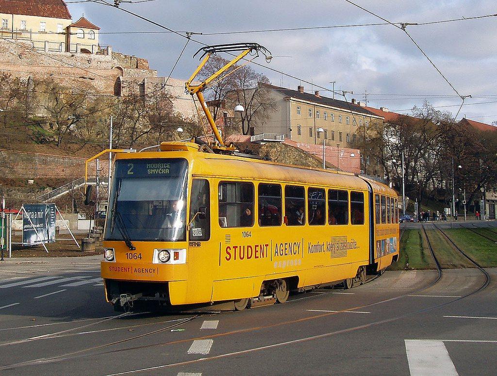 Fotogalerie » ČKD Tatra K2R 1064 | Brno | střed | Nové sady