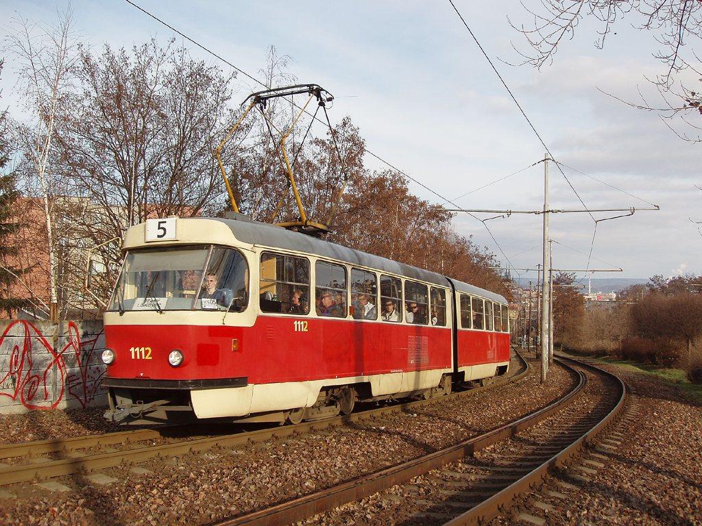 Fotogalerie » ČKD Tatra K2 1112   Brno   Štýřice   Jihlavská