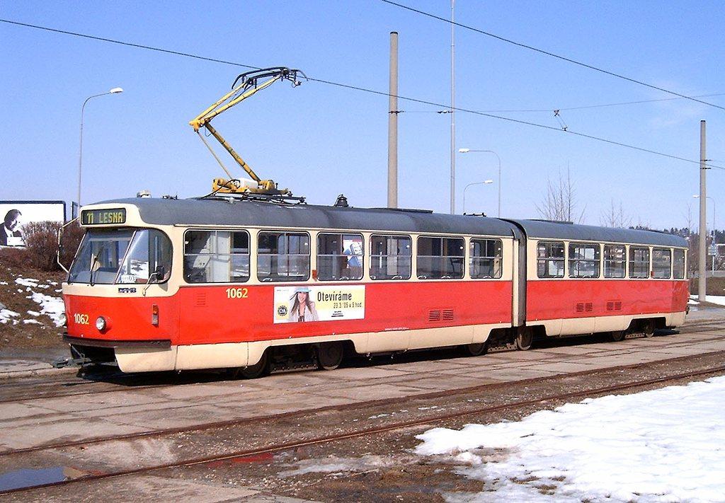 Fotogalerie » ČKD Tatra K2P 1062 | Brno | Bystrc | Rakovecká | Rakovecká, smyčka