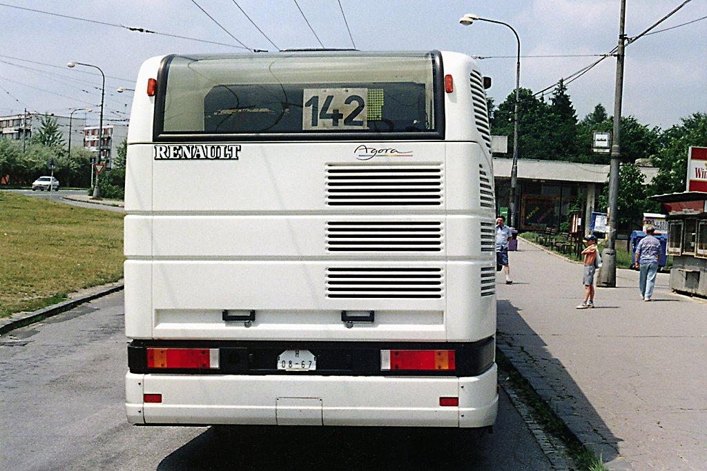Fotogalerie » Renault Agora L H 08-67 | Brno | Kohoutovice | Jírovcova