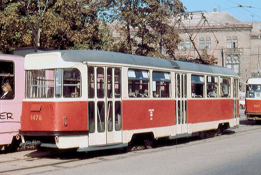 Fotogalerie » Tatra T2R 1476 | Brno | střed | Moravské náměstí | Moravské náměstí