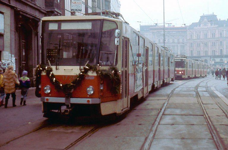 Fotogalerie » ČKD Tatra KT8D5SU 1728 | Brno | střed | náměstí Svobody
