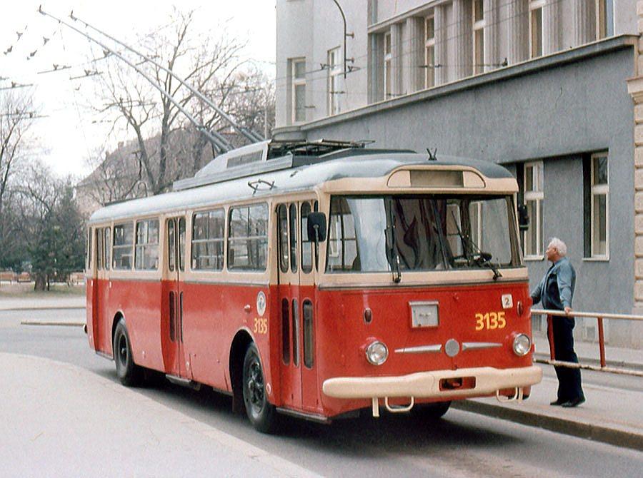 Fotogalerie » Škoda 9TrHT28 3135 | Brno | střed | Brandlova | Česká