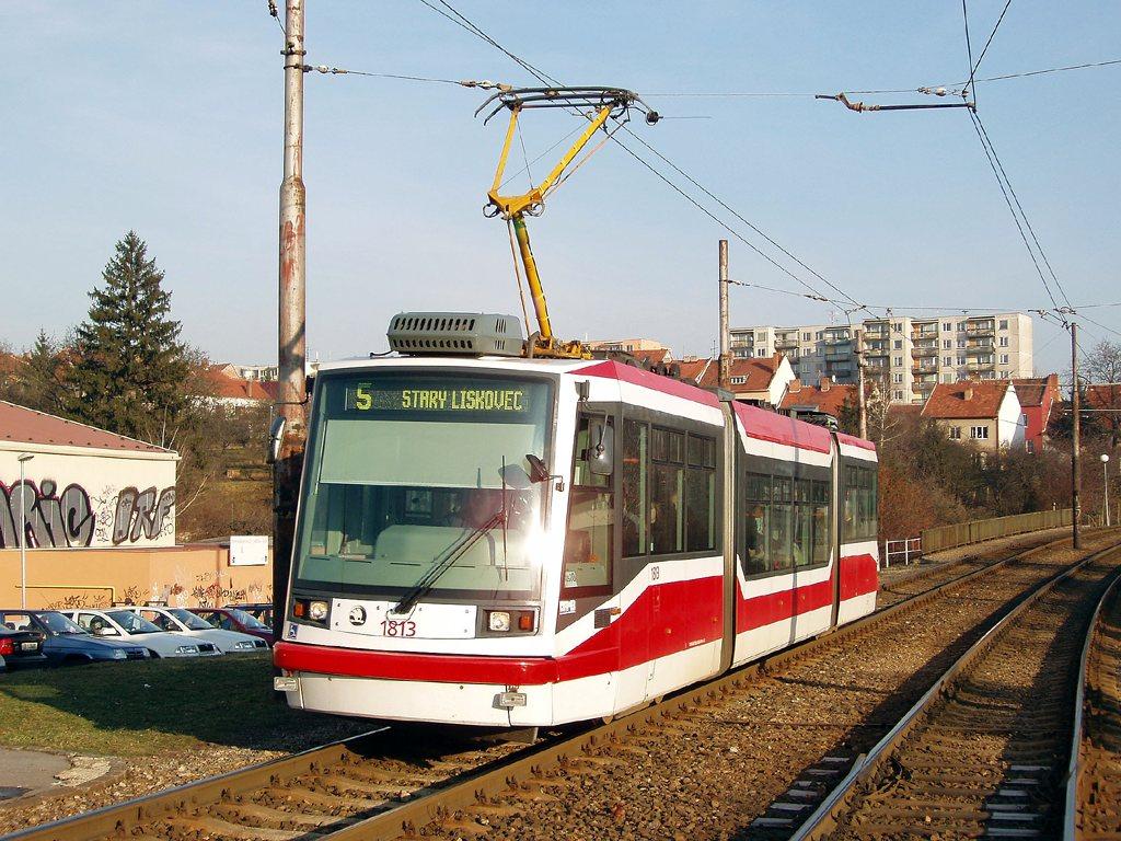 Fotogalerie » Škoda 03T6 1813 | Brno | Bohunice
