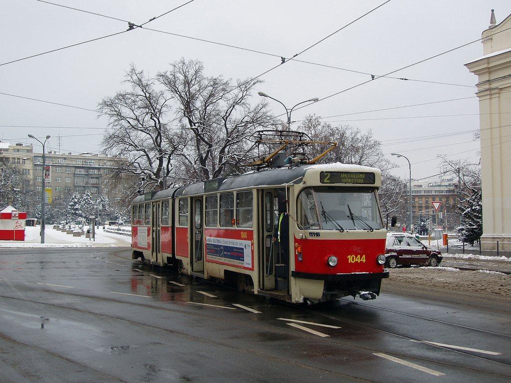 Fotogalerie » ČKD Tatra K2T 1044   Brno   střed   Moravské náměstí
