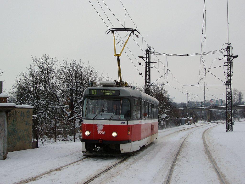 Fotogalerie » Pragoimex T3R.PV 1558 | Brno | Podstránská