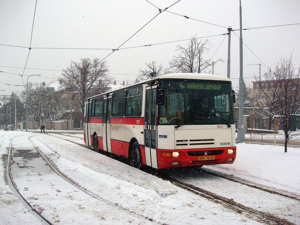 Fotogalerie » Karosa B931E.1707 7472 | Brno | Masarykova čtvrť | náměstí Míru | Náměstí Míru