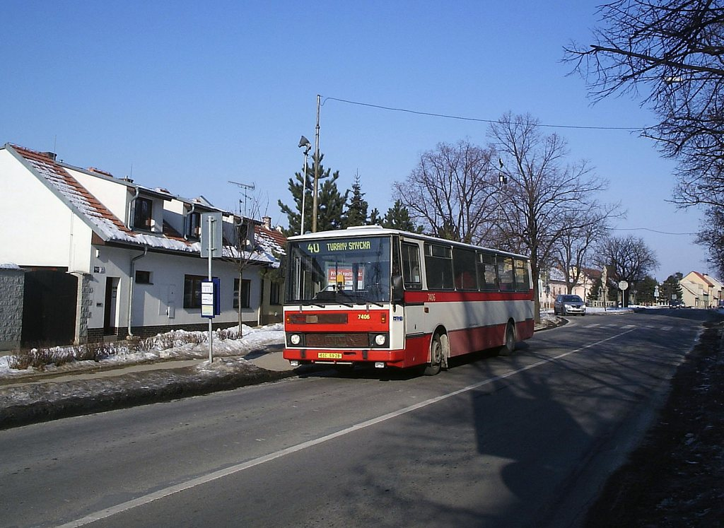 Fotogalerie » Karosa B731.1669 7406   Brno   Tuřany   Hanácká   Hanácká