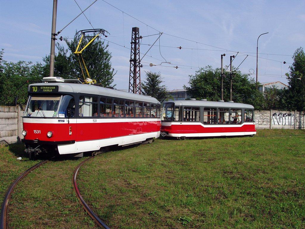 Fotogalerie » Pragoimex T3R.EV 1531 | Pragoimex VV60LF 1301 | Brno | Stránská skála, smyčka