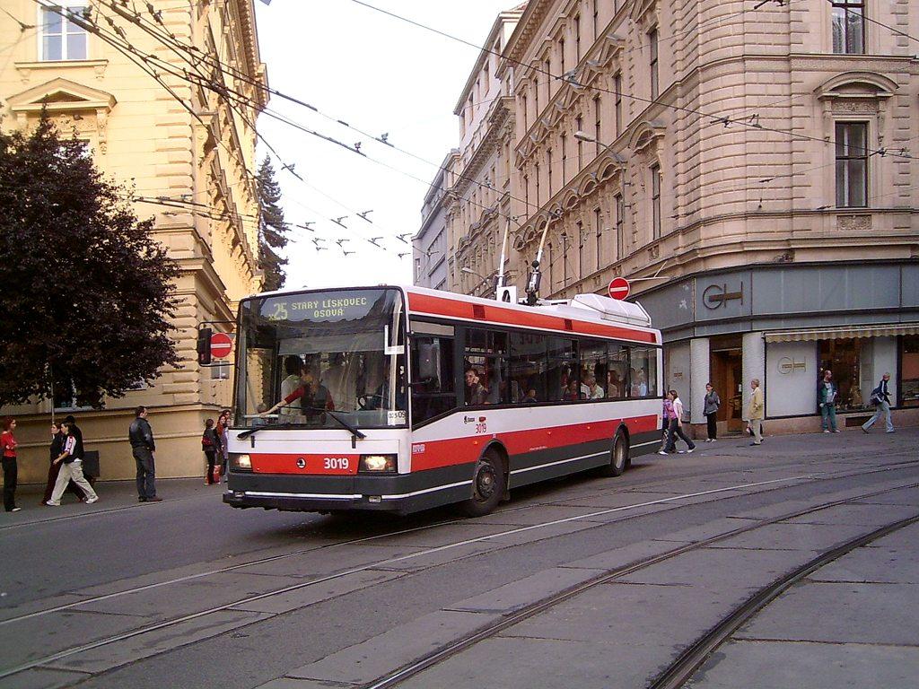 Fotogalerie » Škoda 21Tr 3019 | Brno | střed | Brandlova