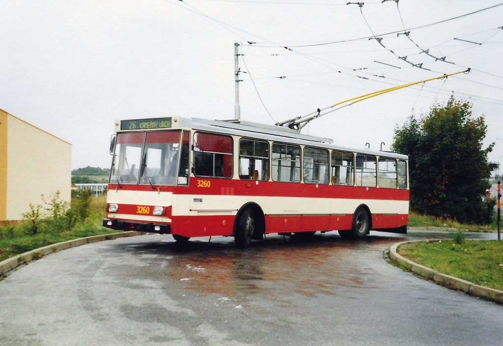 Fotogalerie » Škoda 14Tr14 3260 | Brno | Líšeň | Novolíšeňská