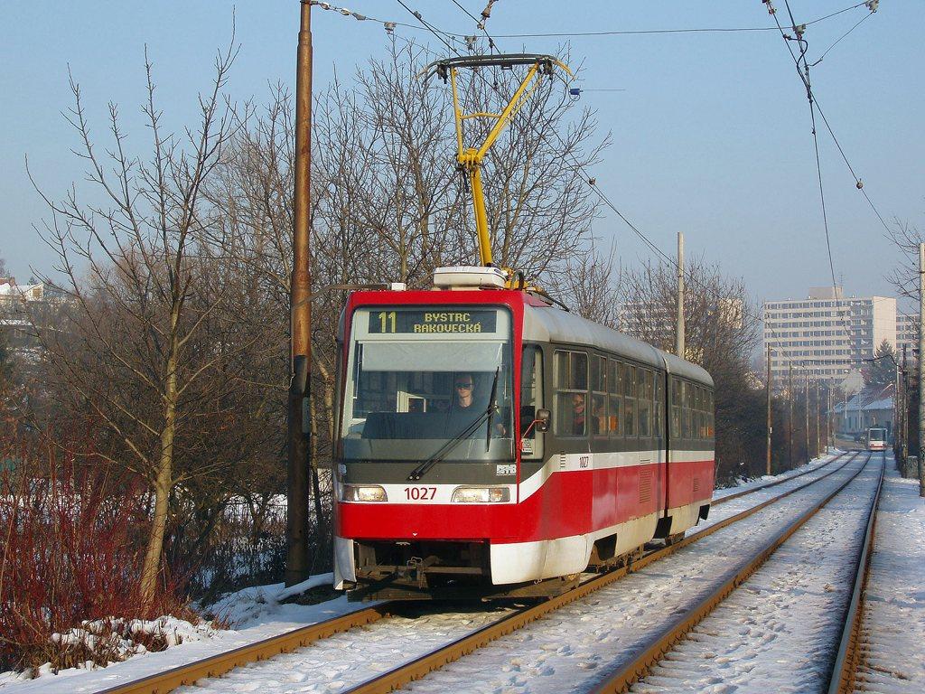 Fotogalerie » ČKD Tatra K2R03 1027 | Brno | Žabovřesky