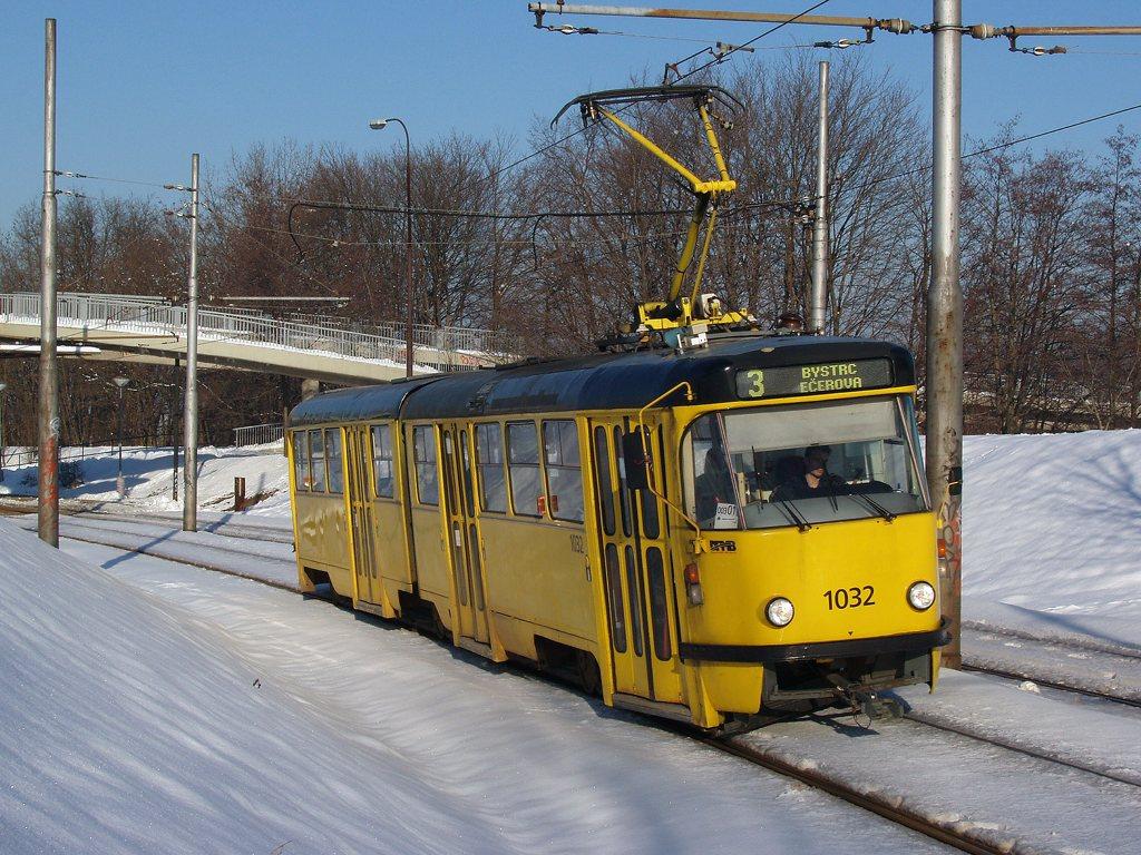 Fotogalerie » ČKD Tatra K2P 1032 | Brno | Bystrc